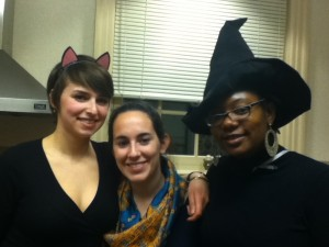 Kelsey, Vicky, e Allegra