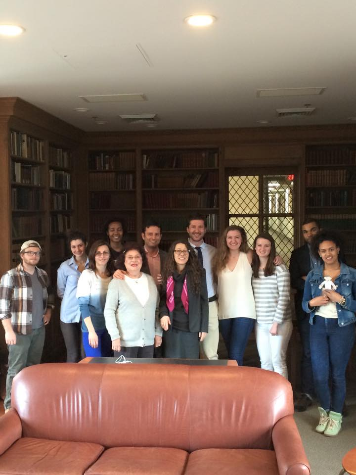 Students and Instructors of the Italian Department met today to talk about classes offered in the Fall 2015, learning opportunities and fun activities, study abroad offers for the Italian community at BMC.